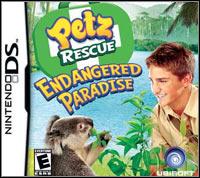 Okładka Petz Rescue Endangered Paradise (NDS)