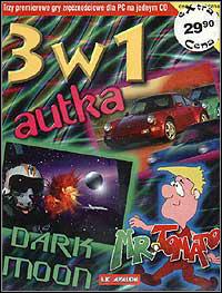 Okładka 3 w 1: Autka, Dark Moon i Mr. Tomato (PC)
