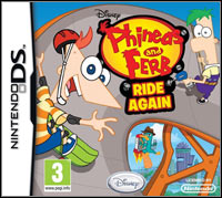 Game Box for Phineas and Ferb: Ride Again (NDS)