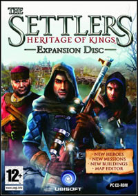 Game Box for The Settlers: Heritage of Kings - Nebula Realm (PC)