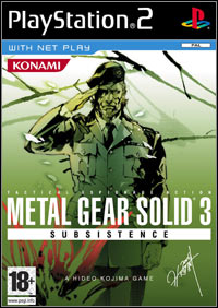 Okładka Metal Gear Solid 3: Subsistence (PS2)