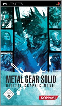 Okładka Metal Gear Solid: Digital Graphic Novel (PSP)