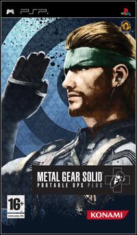 Okładka Metal Gear Solid: Portable Ops Plus (PSP)