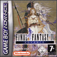 Game Box for Final Fantasy IV Advance (GBA)