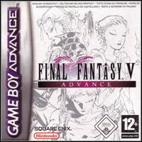 Game Box for Final Fantasy V Advance (GBA)