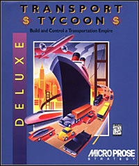 Game Box for Transport Tycoon Deluxe (PC)
