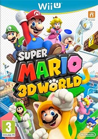 Okładka Super Mario 3D World (WiiU)