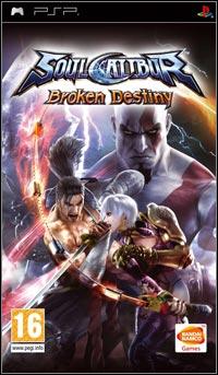Okładka Soulcalibur: Broken Destiny (PSP)