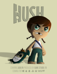 Game Hush (PC) cover