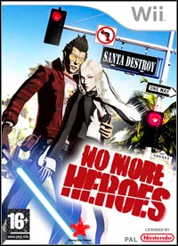 Okładka No More Heroes (Wii)
