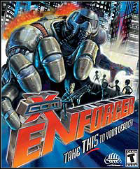 Game Box for X-Com: Enforcer (PC)