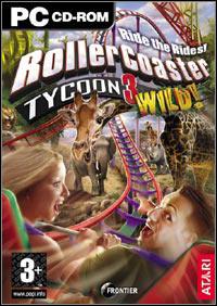 Okładka RollerCoaster Tycoon 3: Wild! (PC)