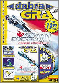 Game Box for Ski Jump Challenge 2001 (PC)