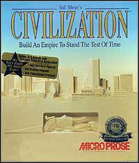 Okładka Sid Meier's Civilization (PC)