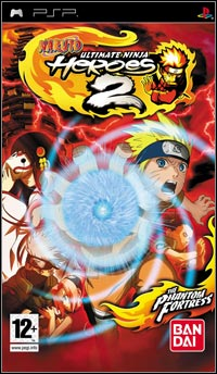 Okładka Naruto: Ultimate Ninja Heroes 2 - The Phantom Fortress (PSP)
