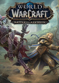 Game Box for World of Warcraft: Battle for Azeroth (PC)