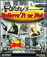 Game Box for Ripley's Believe It or Not (PC)