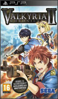 Okładka Valkyria Chronicles II (PSP)
