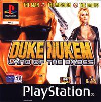 Okładka Duke Nukem: Land of the Babes (PS1)