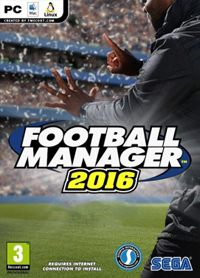 Game Box for Football Manager 2016 (PC)