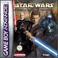 Okładka Star Wars Episode II: Attack of the Clones (GBA)