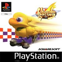 Game Box for Chocobo Racing (PS1)