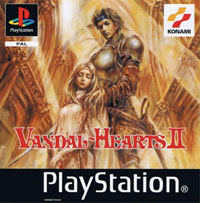 Game Box for Vandal Hearts II (PS1)