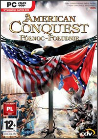 Okładka American Conquest: Divided Nation (PC)
