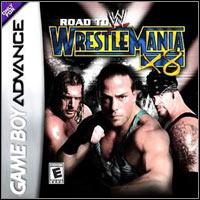 Okładka WWE Road to WrestleMania X8 (GBA)