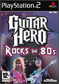 Game Box for Guitar Hero Encore: Rocks the 80s (PS2)