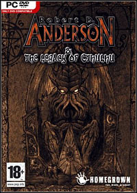 Okładka Anderson & The Legacy of Cthulhu (PC)