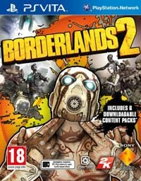 Game Borderlands 2 (PSV) cover