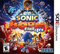 Okładka Sonic Boom: Fire & Ice (3DS)