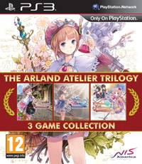Okładka Arland Atelier Trilogy (PS3)