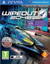 Okładka WipEout 2048 (PSV)