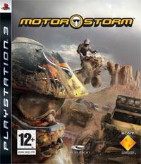 Okładka MotorStorm (PS3)