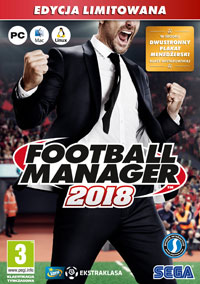Okładka Football Manager 2018 (PC)