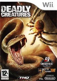 Okładka Deadly Creatures (Wii)
