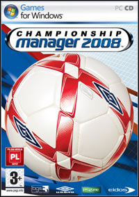 Okładka Championship Manager 2008 (PC)