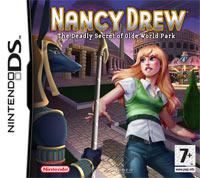 Okładka Nancy Drew and the Deadly Secret of Olde World Park (NDS)