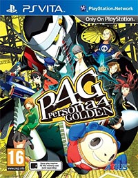 Game Box for Persona 4 Golden (PSV)
