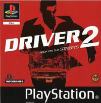 Game Box for Driver 2: Back on the Streets (PS1)