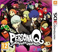 Okładka Persona Q: Shadow of the Labyrinth (3DS)