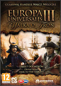 Okładka Europa Universalis III: Heir to the Throne (PC)