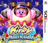 Okładka Kirby: Planet Robobot (3DS)