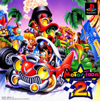 Game Box for Motor Toon Grand Prix 2 (PS1)