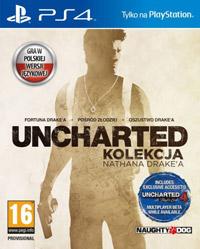 Okładka Uncharted: The Nathan Drake Collection (PS4)