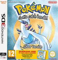 Game Box for Pokemon Silver (3DS)