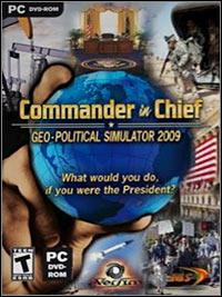Game Box for Commander in Chief: Geo-Political Simulator 2009 (PC)
