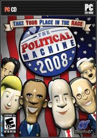 Okładka The Political Machine 2008 (PC)
